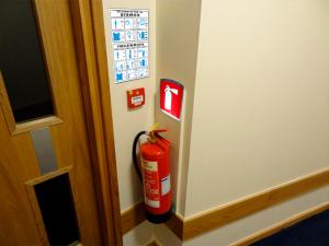 señalamientos de emergencia